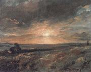 John Constable Hampstead Heath painting