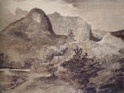 John Constable The Castle Rock,Borrowdale china oil painting artist