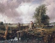 John Constable A voat passing a lock oil painting reproduction