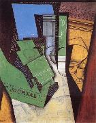 Juan Gris Le Dejeuner oil painting reproduction