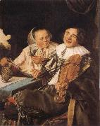 Judith leyster Carousing Couple oil painting