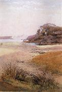Julian Ashton View of Narth Head,Sydney Harbour 1888 oil painting reproduction