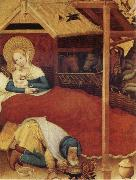 Konrad of Soest The Nativity oil painting reproduction