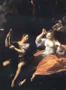 Ludovico Carracci Recreation by our Gallery oil on canvas