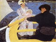 Mary Cassatt The Boating Patty china oil painting artist
