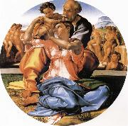 Michelangelo Buonarroti Holy Family painting