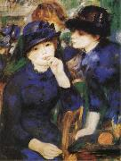 Pierre-Auguste Renoir Two Girls oil painting reproduction
