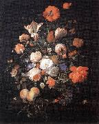 Rachel Ruysch A Vase of Flowers oil