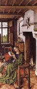 Robert Campin St Barbara oil painting reproduction