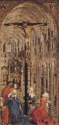 Roger Van Der Weyden Crucifixion in a Church oil