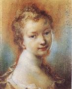 Rosalba carriera Portrait of a Young Girl oil