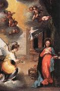 SALIMBENI, Ventura The Annunciation oil painting reproduction