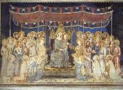 Simone Martini Maesta oil painting reproduction