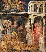 Simone Martini The Death of St. Martin oil painting reproduction