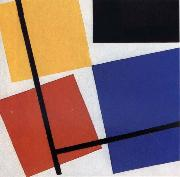 Theo van Doesburg Simultaneous Counter Composition oil painting reproduction