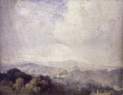 Tom roberts Harrow Hill painting
