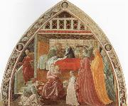 UCCELLO, Paolo Birth of the Virgin oil painting reproduction
