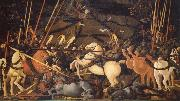 UCCELLO, Paolo The Battle of San Romano oil painting reproduction