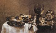 Willem Claesz Heda Still Life oil on canvas