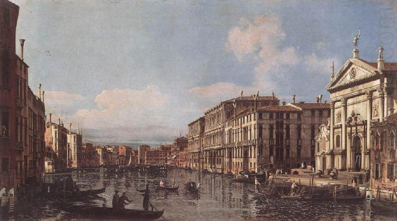 BELLOTTO, Bernardo View of the Grand Canal at San Stae china oil painting image