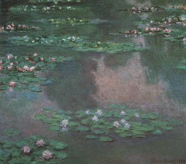 Claude Monet Waterlilies china oil painting image