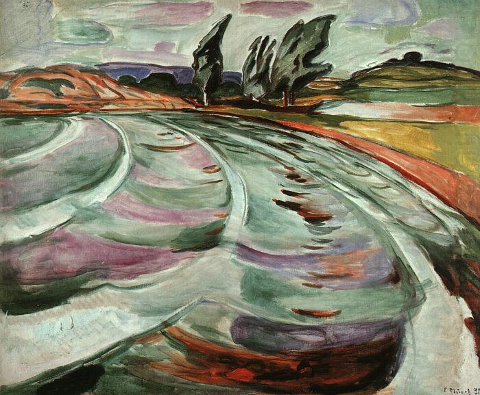 Edvard Munch The Wave china oil painting image