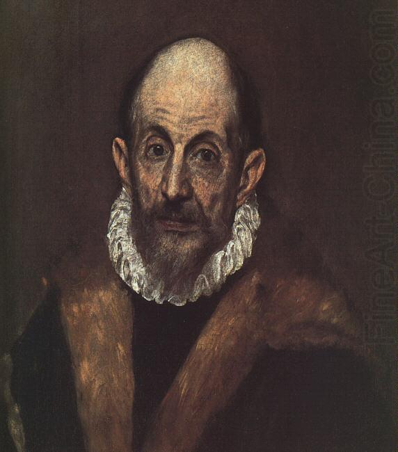 El Greco Self Portrait 1 china oil painting image