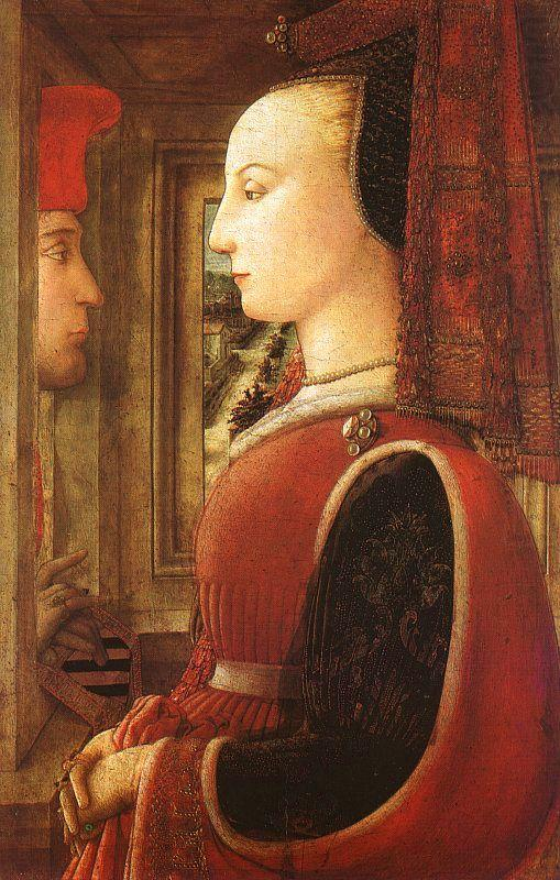 Fra Filippo Lippi Portrait of a Man and a Woman china oil painting image