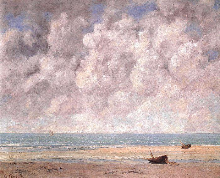 Gustave Courbet The Calm Sea china oil painting image