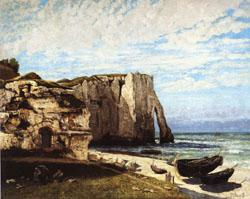 Gustave Courbet The Cliff at Etretat after the Storm china oil painting image