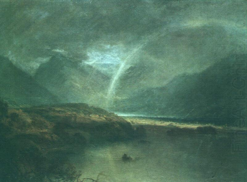 Joseph Mallord William Turner Buttermere Lake : A Shower china oil painting image