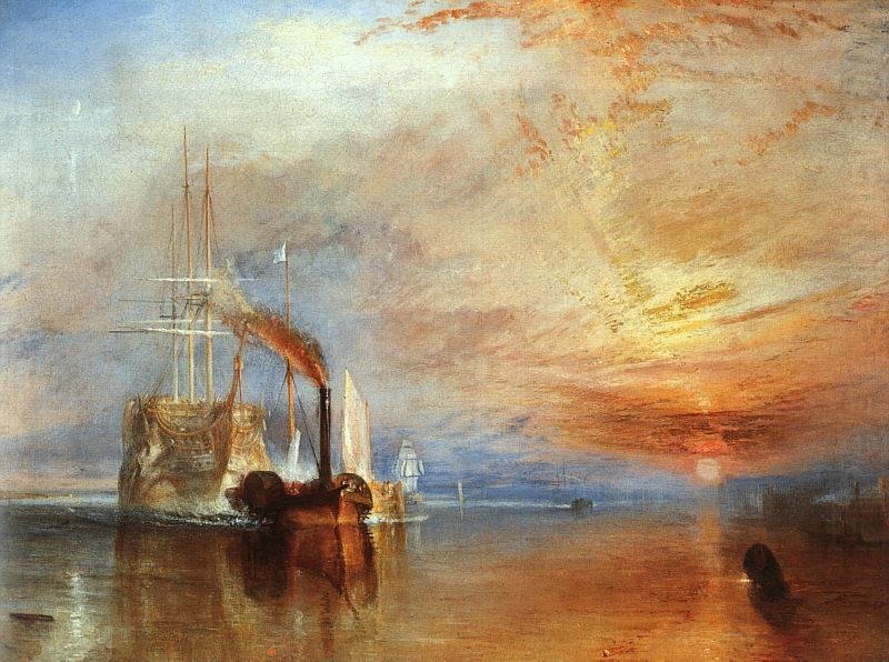 Joseph Mallord William Turner The Fighting Temeraire china oil painting image