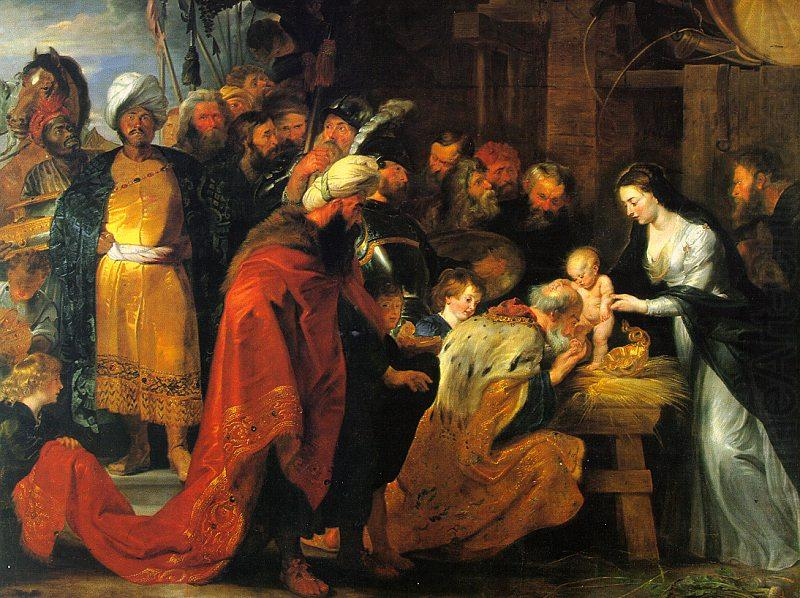 Peter Paul Rubens The Adoration of the Magi china oil painting image
