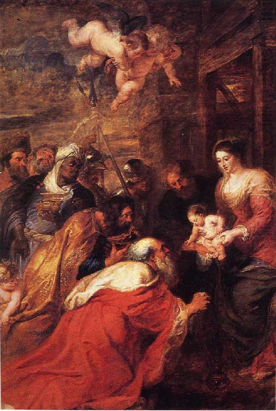 Peter Paul Rubens Adoration of the Magi china oil painting image