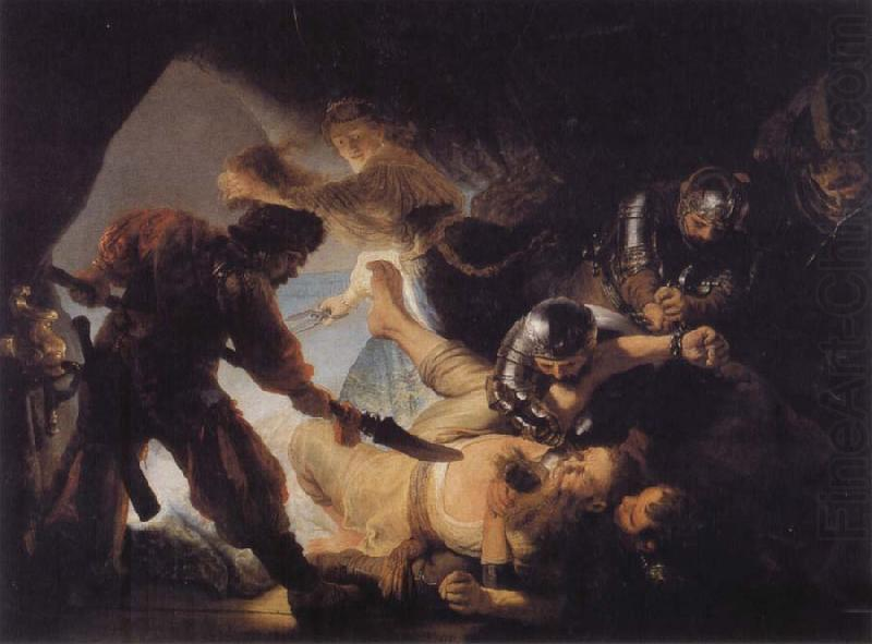 REMBRANDT Harmenszoon van Rijn The Blinding of Samson china oil painting image