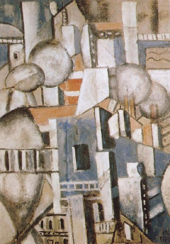 Fernard Leger The housetop of Paris china oil painting image