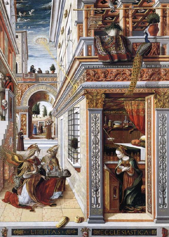 Carlo Crivelli The Annunciation china oil painting image