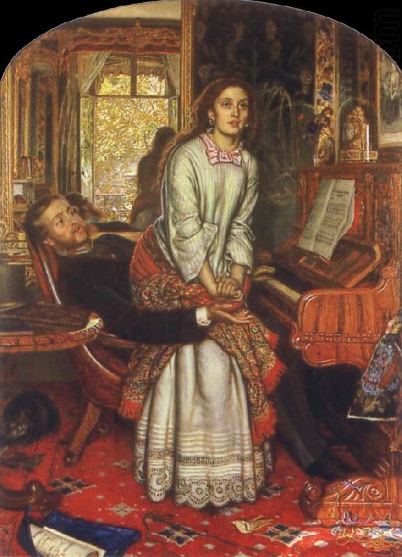 William Holman Hunt The Awakening Conscience china oil painting image
