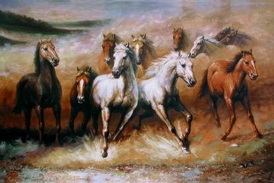unknow artist Horses 02 china oil painting image
