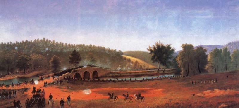 James Hope Burnside-s Bridge china oil painting image