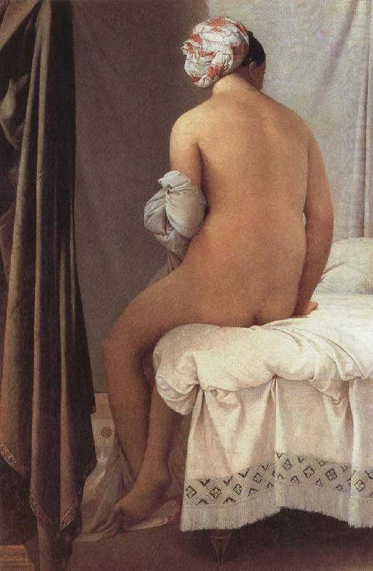Jean-Auguste Dominique Ingres The Bather of Valpincon china oil painting image
