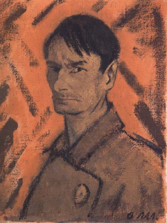 Otto Muller Self-Portrait china oil painting image