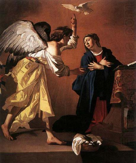 JANSSENS, Jan The Annunciation china oil painting image