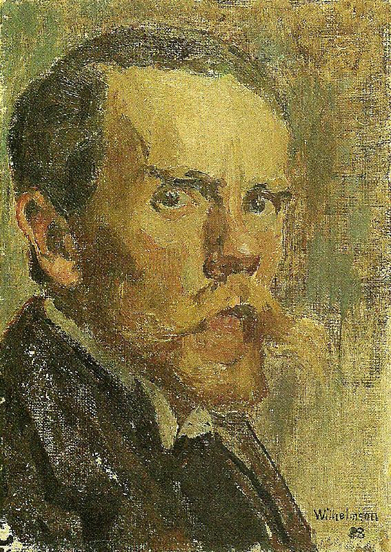 Carl Wilhelmson sjalvportratt china oil painting image