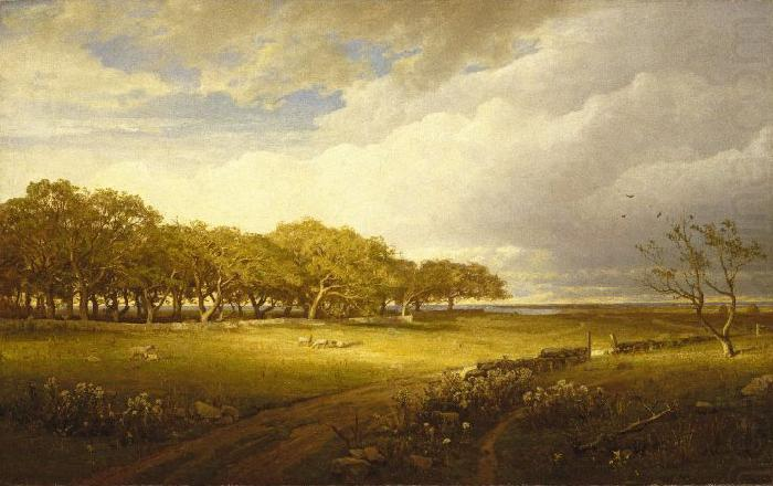 William Trost Richards Old Orchard at Newport china oil painting image