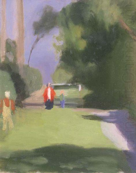 Clarice Beckett Out Strolling china oil painting image