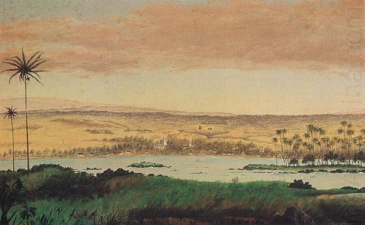 Edward Bailey View of Hilo Bay china oil painting image