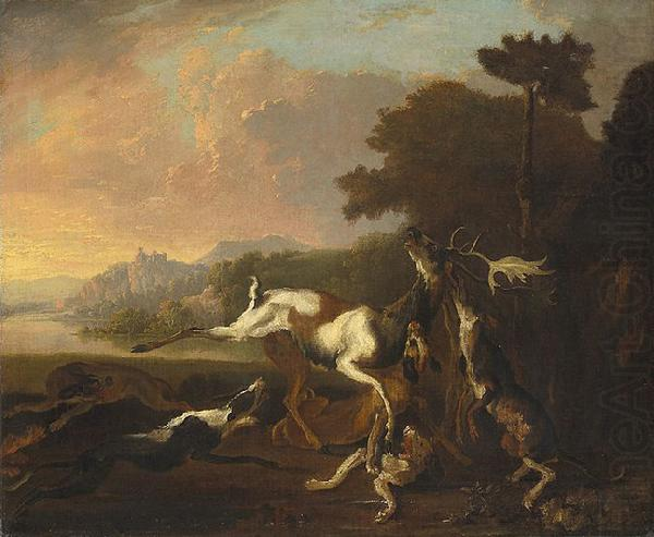 Abraham Hondius The Deer Hunt china oil painting image