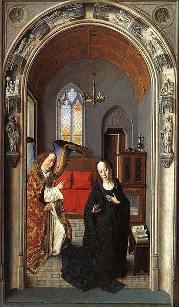 Dieric Bouts The Annunciation china oil painting image
