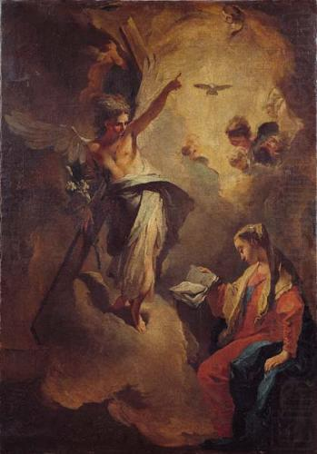 Giovanni Battista Tiepolo The Annunciation china oil painting image
